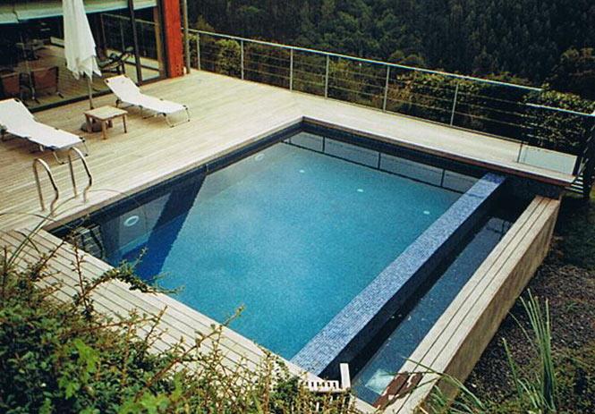 Piscinas bizkaia for Detalle constructivo piscina desbordante