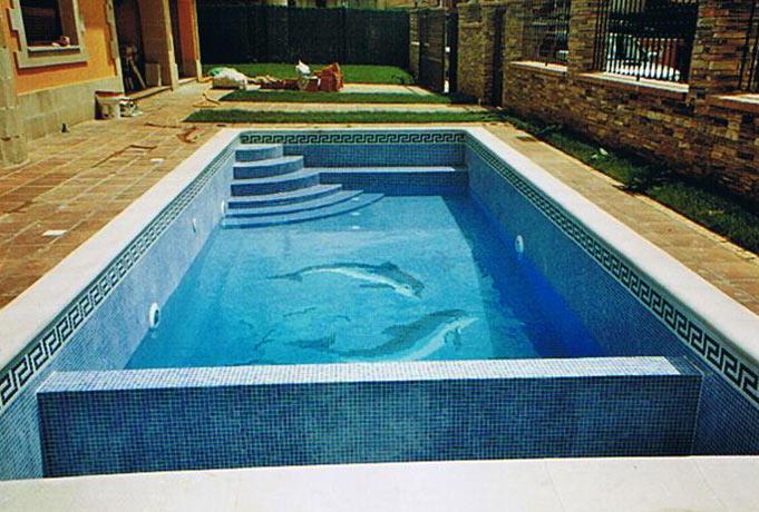 Piscinas bizkaia for Dibujos para piscinas en gresite